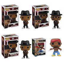 2021 rapper tupac 2pac vinil boneca modelo menino brinquedo Run-D.M.C figura de ação brinquedos para crianças