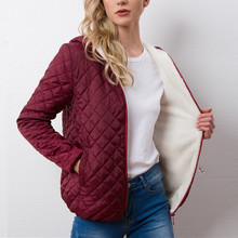 New Spring Autumn Women's Clothing Hooded Fleece Basic Jacket