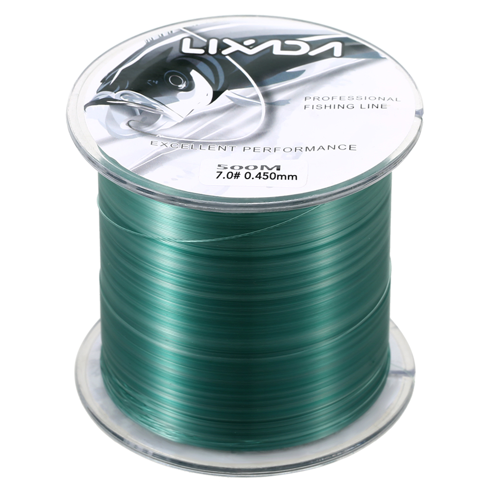 Lixada 500m 0.8 - 8.0 Nylon Fishing Lines Durable Monofilament Rock Sea Fishing Line Thread Fishing Tools Tackles