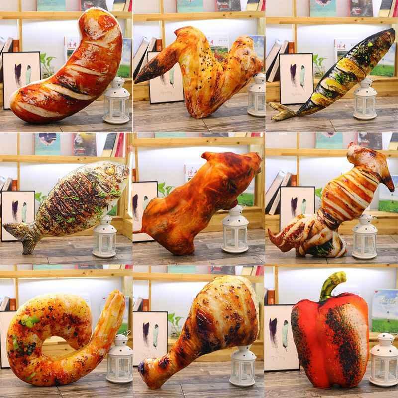 Makanan Simulasi Kehidupan Nyata Gaya Ayam Mainan Cewek Sayap Paha Nasi Goreng Mie Bantal Bantal Hadiah Ulang Tahun
