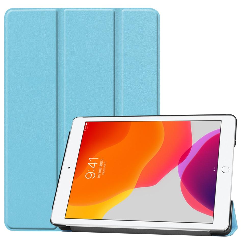 Light Blue MULTI For iPad 10 2 2019 Case for Apple iPad 8th 10 2 2020 A2200 A2198 A2232