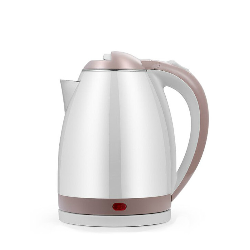Stainless Steel Electric Kettle 1.8L 1500W Auto Power-Off Quick Hot Water Heating Boiler Tea Boiling Pot Heater EU US Plug