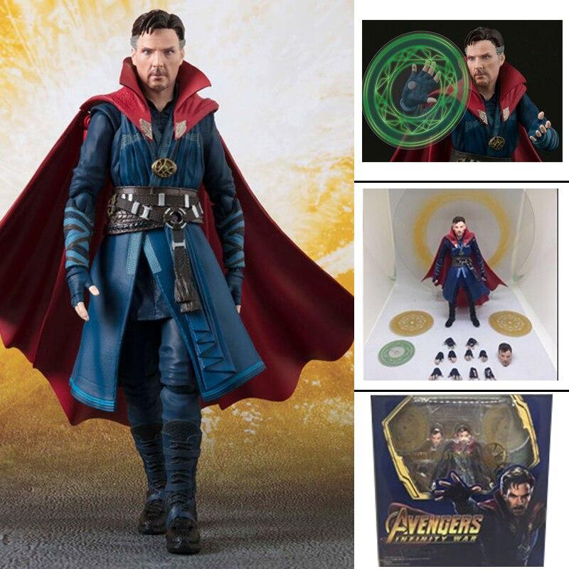 Doctor Strange Figure SHF Avengers Figure Infinity War Doctor Strange Action Figures Model Toy Doll Gift