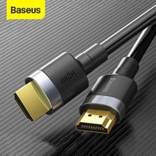 Baseus hdmi-cabo compatível 4k hd a 4k cabo hd para ps4 tv switch box divisor 4k 60hz ultra hd hdmi-cabo de vídeo compatível
