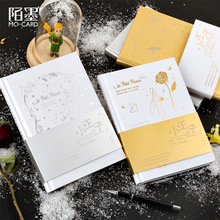 The Little Prince Series Gilding Notebook Bullet Journal Diary Hardback Edition Exquisite Stationery