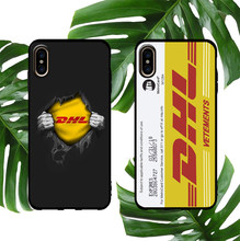 Trend brand DHL soft case for iphone X XS MAX XR 8 7 6 6S plus silicone phone cover matte New York subway card street coque capa(China)