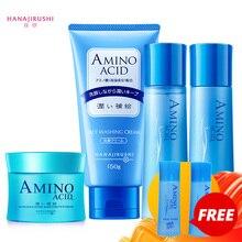 HANAJIRUSHI crema facial de aminoácido, crema reafirmante de noche, Crema de día hidratante, 80g