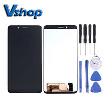 LCD Touch Screen Digitizer Full Assembly for Blackview BV5500 Plus Mobile Phone LCD Display Replacement Parts