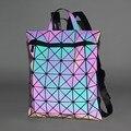Модный разноцветный Светящийся рюкзак унисекс, с геометрическим рисунком, 32*4*38 см, как сумка для компьютера или для путешествий