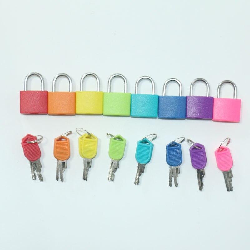 1pc Mini Locks Montessori Materia Colorful Locks Montessori Practical Life Educational Toys For Children Learning Toy B2246F