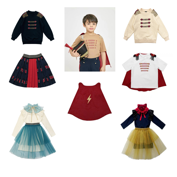 Kids Clothes Sets 2020 Jujubong Brand Summer Boys T shirts Baby Girls Dresses Princess Children Pullover Uniform Girl Skirts 1