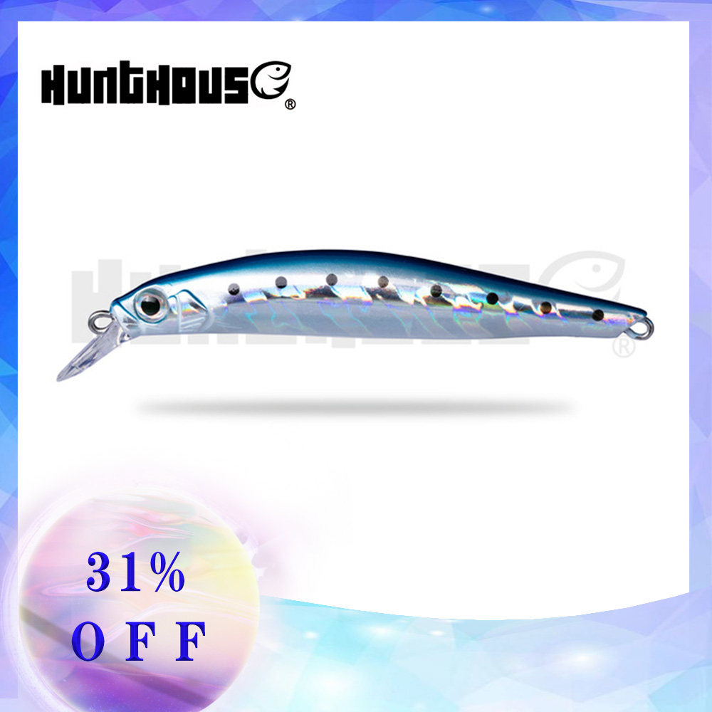 Hunt house fishing lure artist minnow hard lure freshwater trout hard bait 70mm 7g 80mm 8.5g more japan mustad hook made