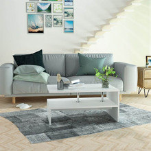 Coffee Table Sofa Chipboard Living Room Furniture Tea Table Furniture Small Creative Nordic Modern Home 90 x 59 x 42 cm