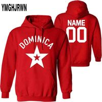 DOMINICA male pullover custom name number dma sweatshirt nation flag spanish Dominican Dominicana republic print photo clothing