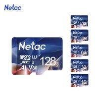 Netac-cartão de memória micro sd, 32gb, 64gb, 128gb, 256gb, 512gb, flash, para câmera 4k, tacógrafo, monitoramento, interruptor de telefone
