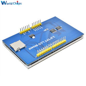 "Image 5 - 3.5 ""3.5 אינץ 480x320 TFT LCD מסך מגע מודול ILI9486 LCD תצוגה עבור Arduino UNO MEGA2560 לוח עם/ללא מגע פנל"