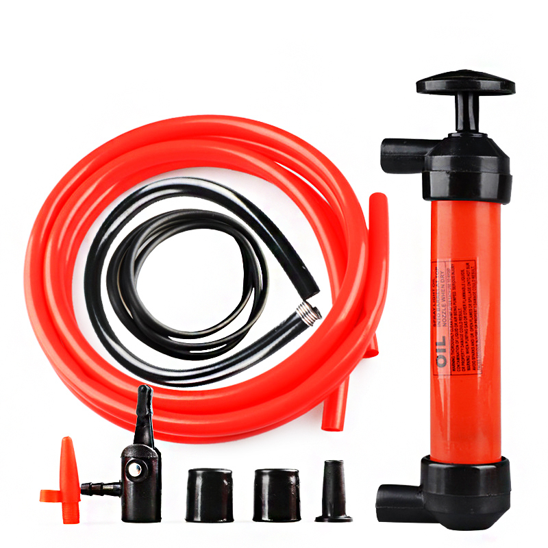 Transfer Hand Syringe Oil Fuel Bump Oil Sucker Oil Change Fluid Extractor Sucking Pipe Gun Pump Extractor Engine Tool Vacuum