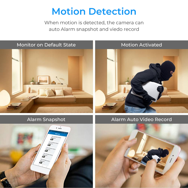 full hd 1080p HD Wireless  micro camera  sensor night vision 2