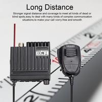 """ווקי טוקי RETEVIS RT98 רכב נייד רדיו ווקי טוקי VHF (או UHF) 15W 199CH דו כיוונית רדיו חובבים רדיו LCD התצוגה של הרדיו באוטו מקמ""""ש (4)"""