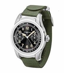 Reloj inteligente montblanco summo Acciaio caucayu Verde 117740