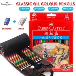 Faber Castell 48Color Classic Color Pencil Lapis De Cor Oil Colour Pencil for Office School Drawing Design Supplies
