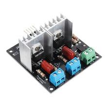 CLIATE   2 Channels AC Light Dimmer Controller Module for PWM Control 3.3V/5V Logic AC 50/60hz 220V/110V