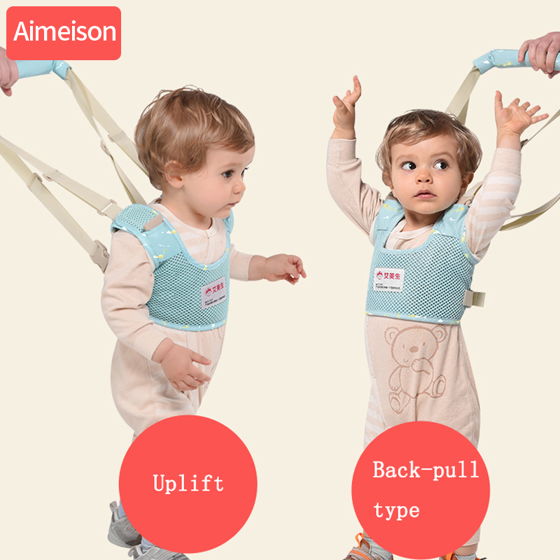 Aimeison Baby Learning Walking Assistant Infant Walking Belt Adjustable Belts Toddler Leash Baby Harness For Kids Child Safety