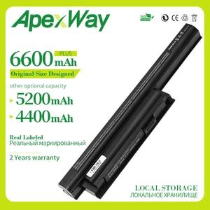 6600 mAh New Laptop Battery for SONY VAIO BPL26 BPS26 VGP-BPL26 VGP-BPS26 vgp-BPS26A bps26 VPCEL15EC SVE141 SVE14A SVE15 SVE17