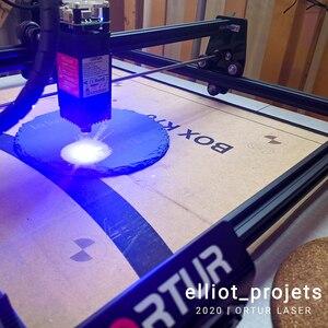 Image 4 - Stampante personale di Logo del Laser dellincisore della taglierina del Laser di CNC dellincisore del Laser di OLM 2 Ortur 7/15/20W per le macchine utensili dellincisione del metallo