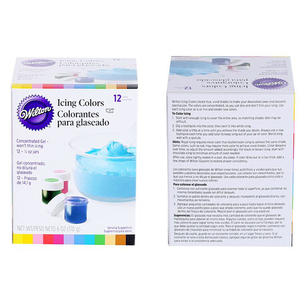 Image 5 - Food Color 12 Pieces Gel Based    Food Coloring Additive for Icing Fondant Cake Batter Cake Color Tools