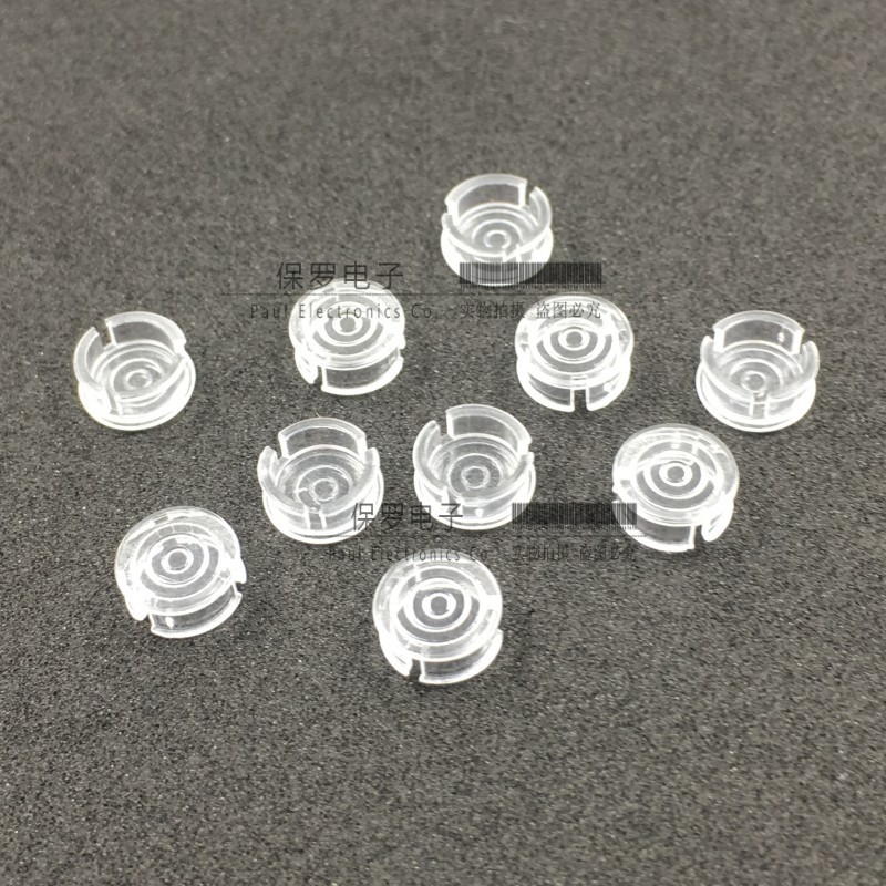 20PCS LC5-3 LED Light Guide Cap 5MM Lamp Cover LED Protection Cover Light Guide Post