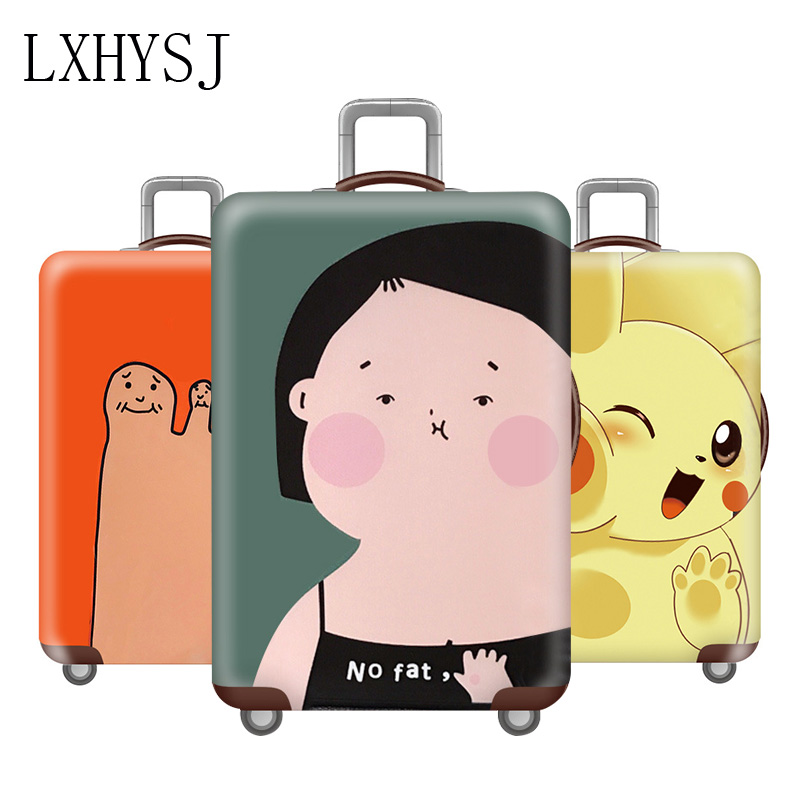 Elasticity Luggage Cover Thicken Luggage Protective Covers Suitcase Cover Elastic Fabric For 18-32 Inch Travel Suitcase Case