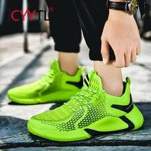 Cyytl армейский зеленый для мужчин; Модные дышащие кроссовки