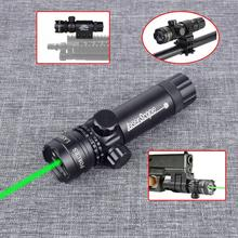 Tactical Laser Mount Green Red Dot Laser Sight Rifle Gun Hunting Scope Mount Remote Pressure Switch for Picatinny Rifle Hunting tactical 5mw red laser sight rifle scope riflescope designator 20mm mount tail switch for hunting