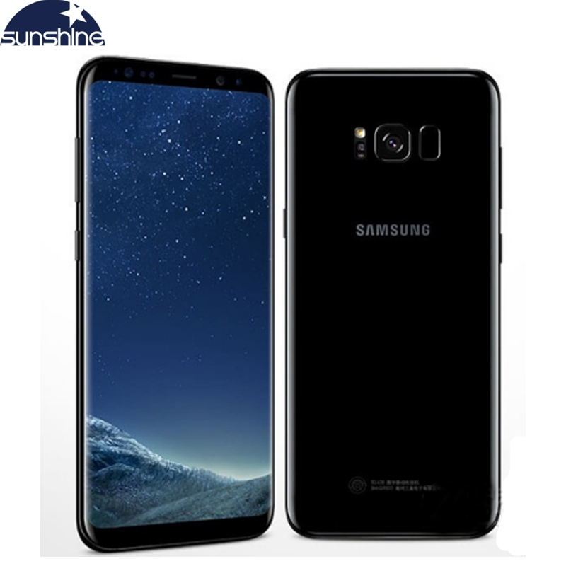 "Samsung Galaxy S8 Plus Original 4G LTE Mobile Phone Octa Core 6.2"" 12.0MP 4G RAM 64G ROM Fingerprint Smartphone"