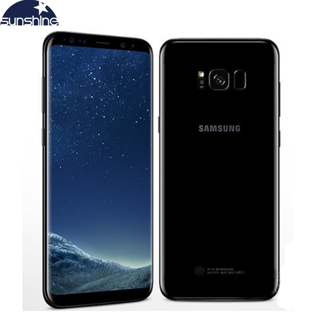 Samsung Galaxy S8 Plus Original 4G LTE Mobile Phone Octa Core 6.2″ 12.0MP 4G RAM 64G ROM Fingerprint Smartphone Mobiles Accesories Smart Phones & Tablets Smartphones