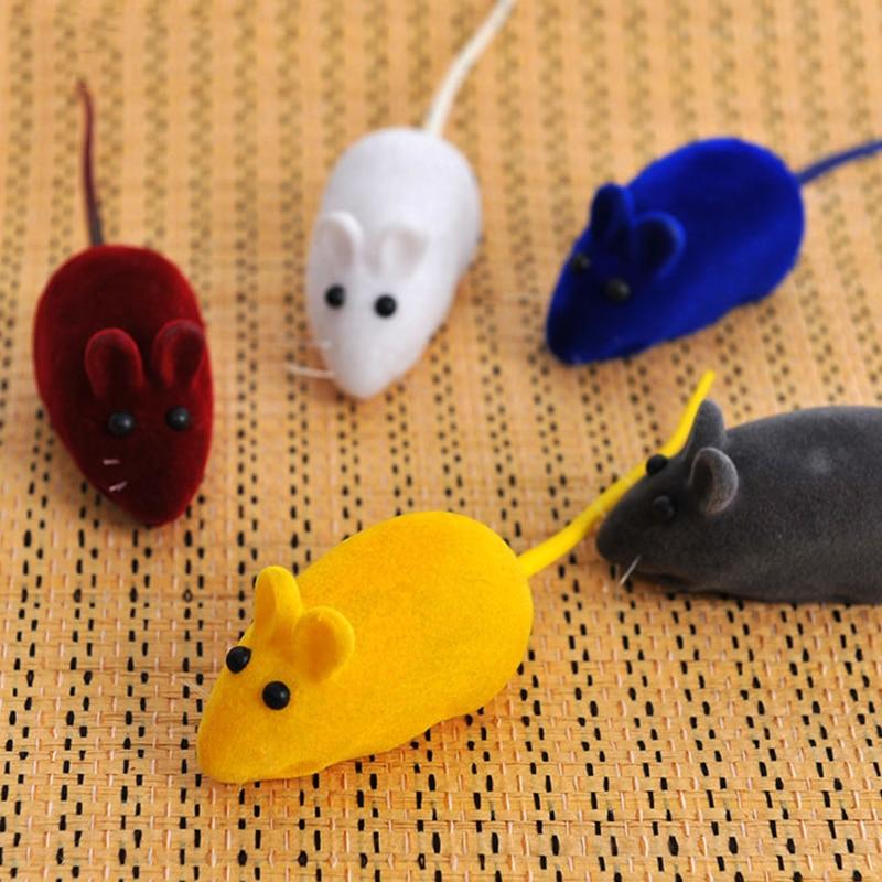 YVYOO 1PCS Krijues Qesharak Fal Faleminderit Lodra Kafshë Pet Cat Mini Lodra Lojëra Qesharake për Macet Kitten Ngjyra e rastësishme Interactive