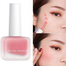 Palette De fard à joues liquide De couleur pêche, cosmétique, réparation, mat, Contour du visage, crème pour joues, maquillage coréen, TSLM2