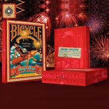 1 talia rowerowa petarda karty do gry 88*63mm papierowa magiczna kategoria karty do pokera dla profesjonalnego maga
