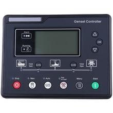 SL6120U AMF Generator Set Controller LCD Automatic Start Genset Ats Control Box Terminal Charge Panel Alternator Part 6120