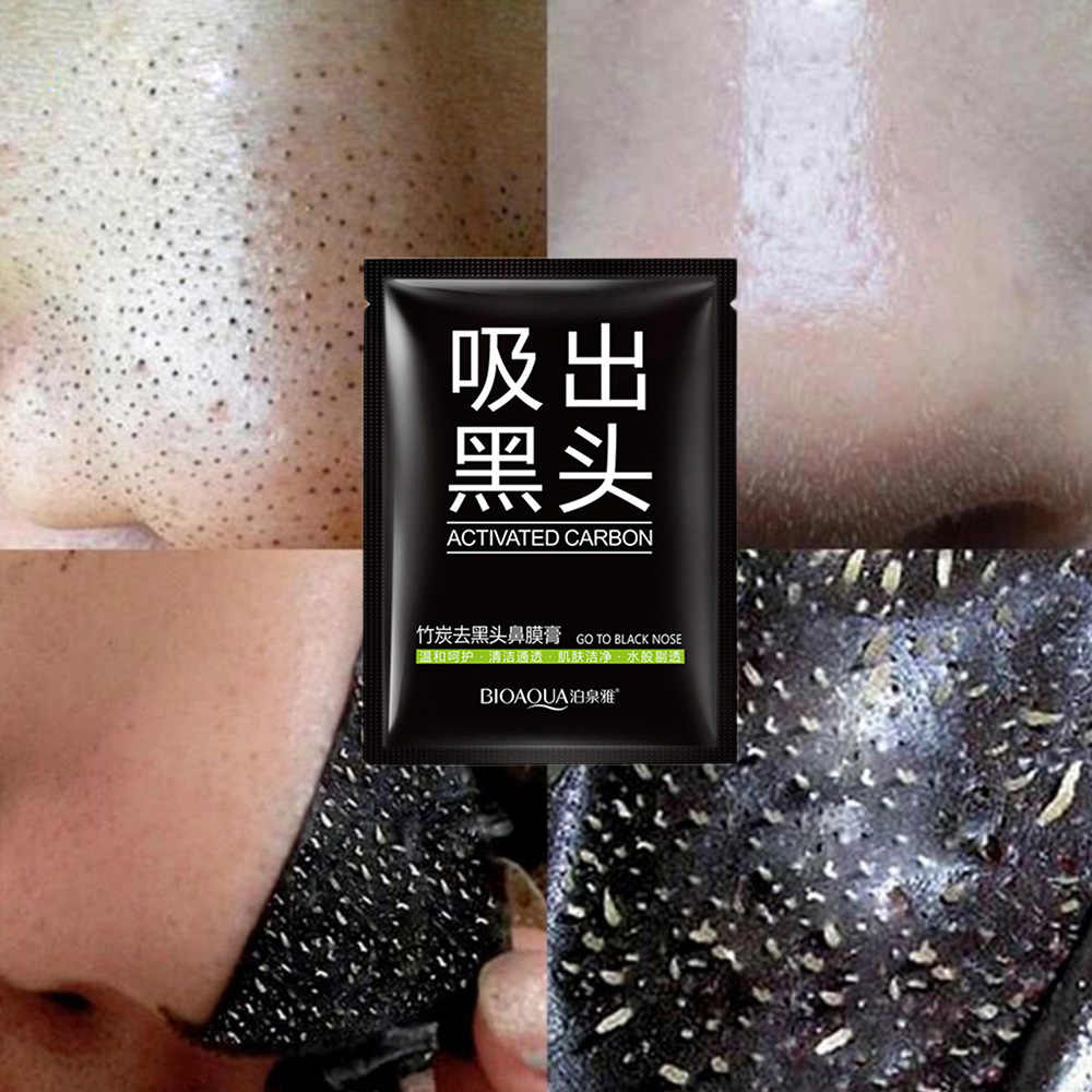 black mud dead sea Face Treatments Oil-control shrink pore Waterproof Camouflage Concealer Face Makeup Cosmetic  BIOAOUA makeup