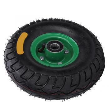 10.5in 4,10/3,50-4 incorporado 6204-2RS cojinete de goma herramienta inflable carro rueda rodamiento