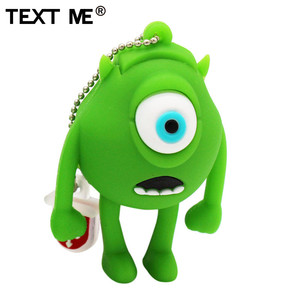 Image 4 - TEXT ME cute cartoon 3 colour Monster University usb flash drive usb 2.0 4GB 8GB 16GB 32GB 64GB pendrive best gift