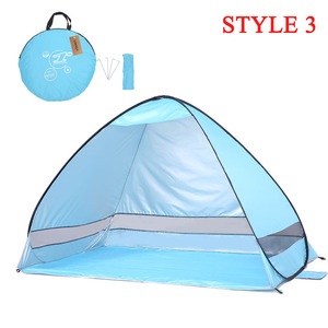 Image 3 - KEUMER Automatic Camping Tent Ship From RU Beach Tent 2 Persons Tent Instant Pop Up Open Anti UV Awning Tents Outdoor Sunshelter