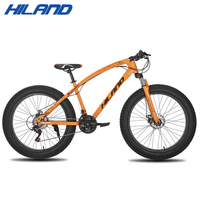 26 inch 7/21/24 speed Snow Bike Bicycle Steel Frame Bicycle with Break and Shifter Winter bike Bicycle for 150 180cm Hight|Bicycle| |  -