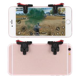 1 Pair PUBG Mobile Game Controller Trigger Target Button Controller L1 R1 Shooting Joystick For Different Types Of Mobile Game