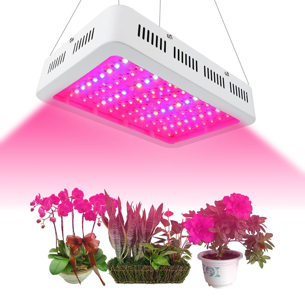 LED Grow Lights, Full Spectrum Panel Grow Lamp With IR & UV LED Plant Lights For Indoor Plants,Micro Greens,Clones,Succulents,Se