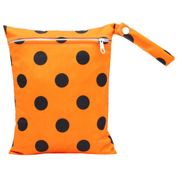 20*25cm Mini Diaper Wet Bag Single Pocket Zipper Baby Bags For Mom Maternity Travel Stroller Bag PUL Nappy Diaper Bag Wetbag - AS-MB-02