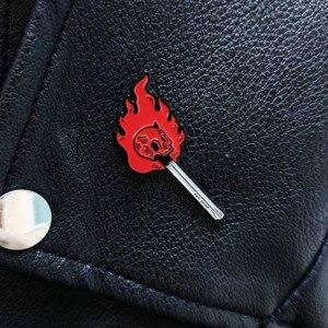 Hell Match Pins Lapel Pin Enamel Pins