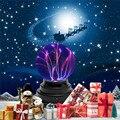 Sunligoo светильник плазменный шар лампа Статический электрический Глобус Волшебный гром светильник ning сенсорный-Новинка игрушка для декорац...